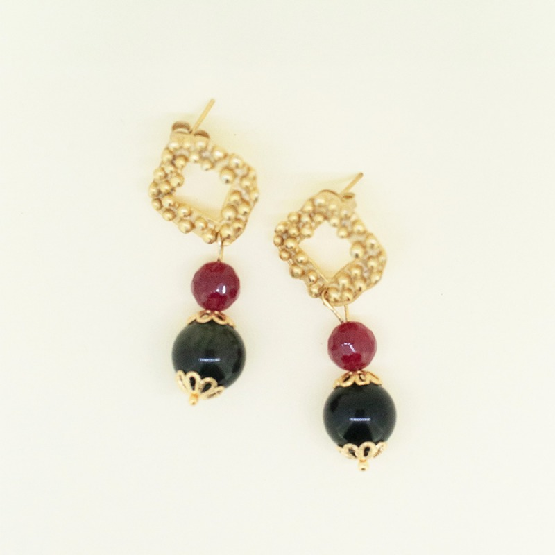 agata-rossa-magnetite-earrings